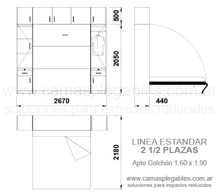 Medidas de camas rebatibles rosas zubiri for Cama 3 plazas medidas