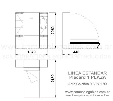 Medidas de camas rebatibles rosas zubiri for Cama 1 plaza medidas