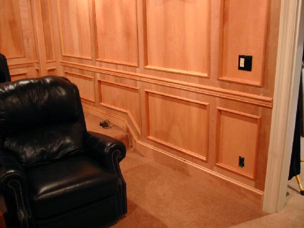 Revestimientos de madera guaresi rosas zubiri - Revestimientos de paredes interiores en madera ...